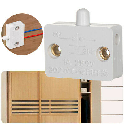 Household Wardrobe Light Door Control Cabinet Light Switch Automatic Reset