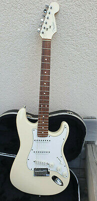 Fender Stratocaster 1995 Limited Edition Matching Headstock Olympic White