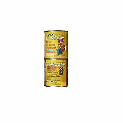 PC Products PC-Woody Wood Repair Epoxy Paste, Two-Part 48oz (48 oz in Two Cans)