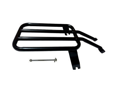 Royal Enfield Classic 350cc 500cc Rear Luggage Rack Carrier Black