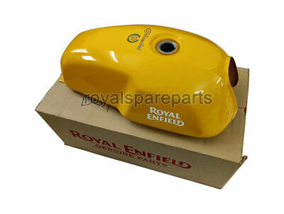Royal Enfield GT Continental 535 Petrol Gas Fuel Tank Yellow