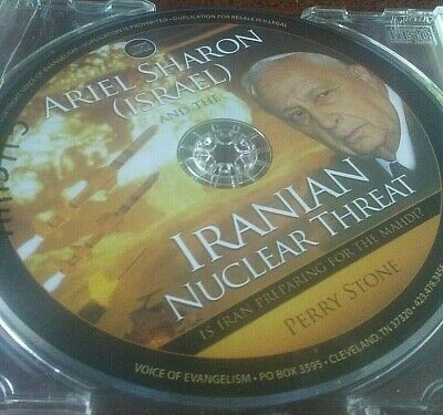 Perry Stone Ariel Sharon and the Iranian Nuclear Threat CD Religion Israel