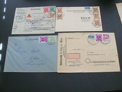 GERMANY  Posthorn 4 COVERS