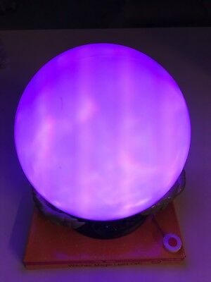 Witch's Magic Light Orb Crystal Ball Animated Led Lights And Sounds Halloween