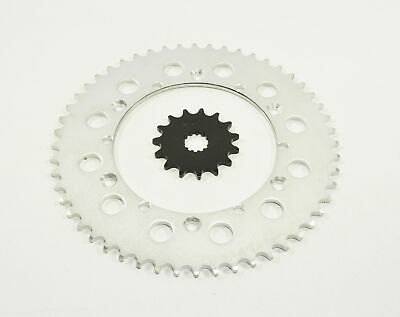 fits Yamaha 1998 YZ400 F 400//1998 WR400 F 14 Tooth Front and 48 Tooth Rear Sprocket