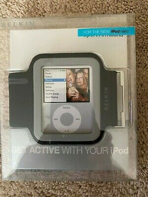 NEW in BOX 6th generation ipod sport armband belkin