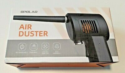 OPOLAR Cordless Air Duster for Computer&Home Cleaning, 6000mAH Battery