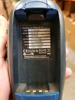 Vocollect TT-700-100 Wireless Bluetooth Mobile voice picker battery and warranty