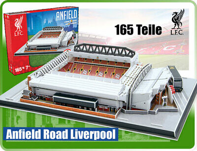 Nanostad Stadion 3D Puzzle Anfield Road Liverpool Modell 165 Teile