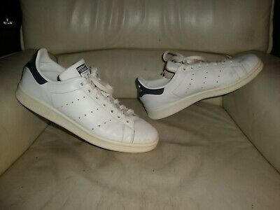 """Adidas Stan Smith """" Blue """" Used - Sneakers T. 42 2/3 Occasion - US 9 / UK 8,5"""