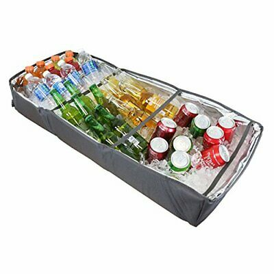 Duraviva Insulated Food & Drink Portable Foldable Party Cooler and Serving