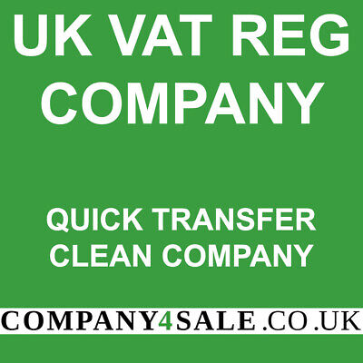 Vat Registered  2020 limited company for sale business companies code 7552SD