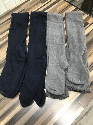 4 pairs supersoft tights 9-10 Years Old