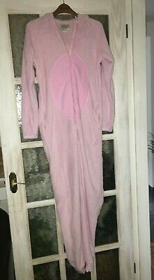 Primark Love To Lounge Pig All In One Hooded Pj's Size Xs
