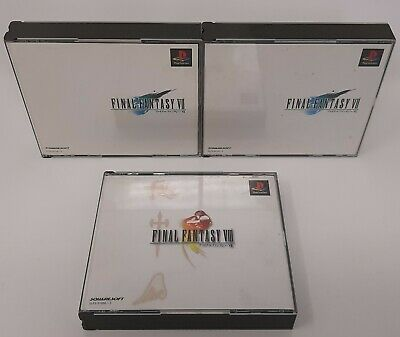 Final Fantasy 7 e 8 Videogame Giapponesi lotto Ps Playstation