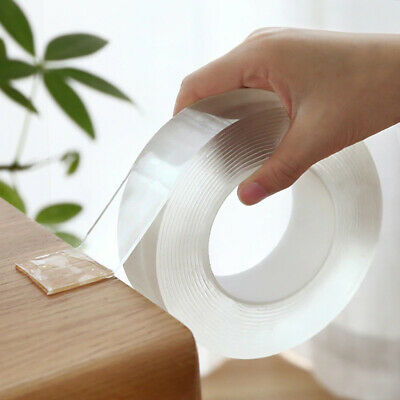 Magic nano-tape Reusable Double-Sided tape Adhesive Nano Traceless Double Tape
