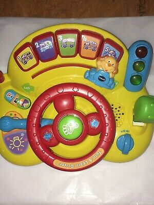 Vtech 80-166601 Turn and Learn Driver Toy - Yellow