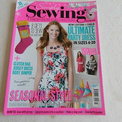 Simply Sewing Magazine, Issue 23- Includes Free Pattern for The Katie Dress