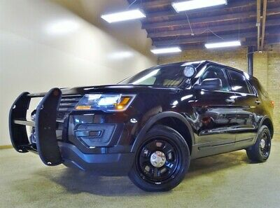 2017 Ford Explorer Police AWD , Push Bumper and Havis Console Equippe 2017 Ford Explorer AWD, Black/Black 85k Miles, Console, Push Bumper
