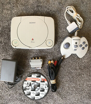 Lot Console Sony PlayStation One PS ONE Avec 1 Manette 1 Jeu Formula 1