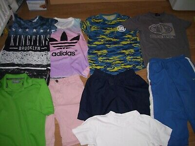 Boys bundle of summer clothing. Age 9/10 years.Shorts and tops. Free Postage!
