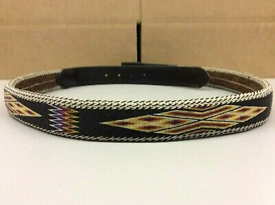Montana State Prison Handmade Hitched Horse Hair Belt