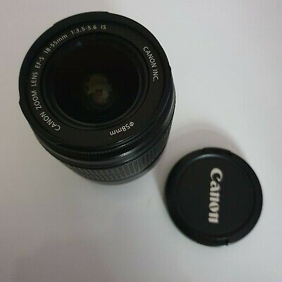 Canon EF-S 18-55mm F/3.5-5.6 IS Lens with Image Stabilizer