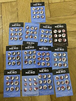 12 X Cafe Nero Coffee Loyalty Cards