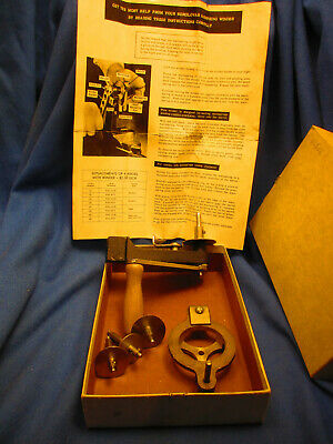 Clockmaker Estate Horolovar 400 Day Clock Mainspring Winder with Box & Papers