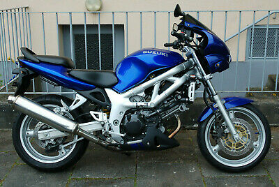 Suzuki SV650s Limited Edition BJ 2002 Candy Grand Blue 15tkm Tüv 04/2022 645ccm