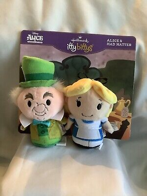 Hallmarks ITTY  BITTYS - Alice In Wonderland And The Mad Hatter