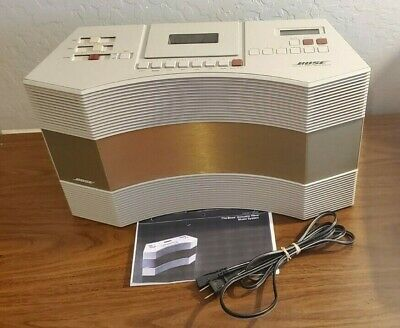 BOSE Acoustic Wave Music System AW-1 AM/FM Radio/Cassette SERVICED NEW BELTS
