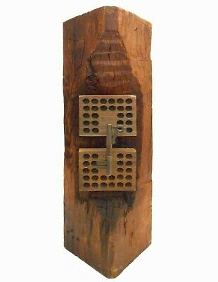 Richard Johnson Usa/20Th C Sgnd Abstract Totem Wood Sculpture 'Church Works' '96