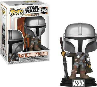 FUNKO POP Star Wars The Mandalorian Vinyl Figure #345 [New Armor]