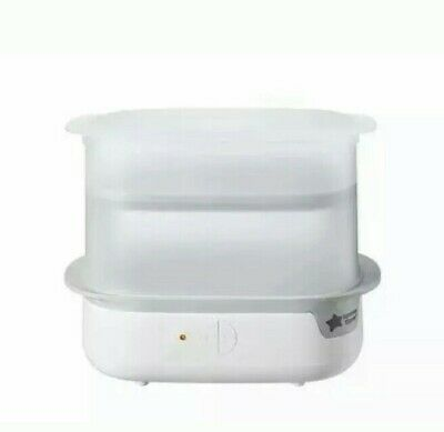New and Improved Tommee Tippee Steri-Steam Electric Steam Sterilizer, White