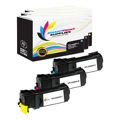 Smart Print Supplies 106R1453 Magenta Compatible Toner Cartridge Replacement for Xerox Phaser 6128 Printers 3,100 Pages
