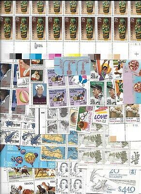Stamps USA postage stamps $70 FACE value lot of unused postage 29c, 32c, 33c ++