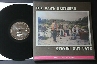 The Dawn Brothers – Stayin' Out Late LP 1st PRESS ROCK 2017 VVNL30651 GATEFOLD