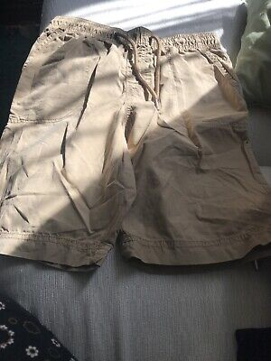Marks And Spencer Boys Used Shorts 10-11 Years Brown