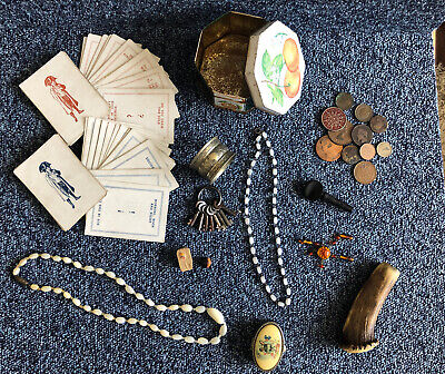 Collection Of Mixed Antique & Vintage Items