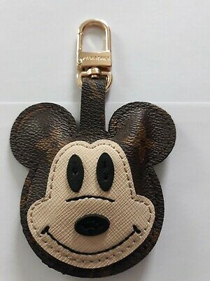 Porte-Clés Louis Vuitton en cuir Mickey