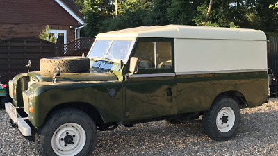 Landrover Land Rover series 3 109 converable diesel pick up van 1978 free tax