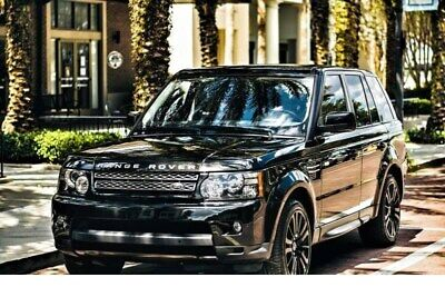 2013 Land Rover Range Rover Sport HSE LUX 4x4 4dr SUV 2013 Land Rover Range Rover Sport HSE LUX 96,000 Miles Black Sport Utility 8 Cyl