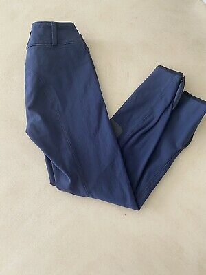 Girls Navy Tailored Sportsman Trophy Breech size 12 Great Used Condition!