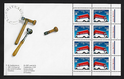 Canada Stamps — Pane of 8 — Canada Post Corporation #1273a — MNH