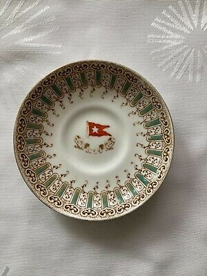Titanic White Star Line Wisteria Saucer Plate For Cup Stonier Olympic Ship