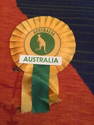 1991 Australia Rugby Union, World Cup Rosette
