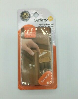 Safety 1st Spring Loaded Cabinet And Drawer Latches Baby
