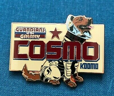 disney trading pin 3d Marvel Guardians of the Galaxy Cosmo Russian space dog