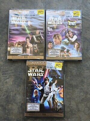 Star Wars Limited Edition Theatrical Trilogy DVD Set Brand New